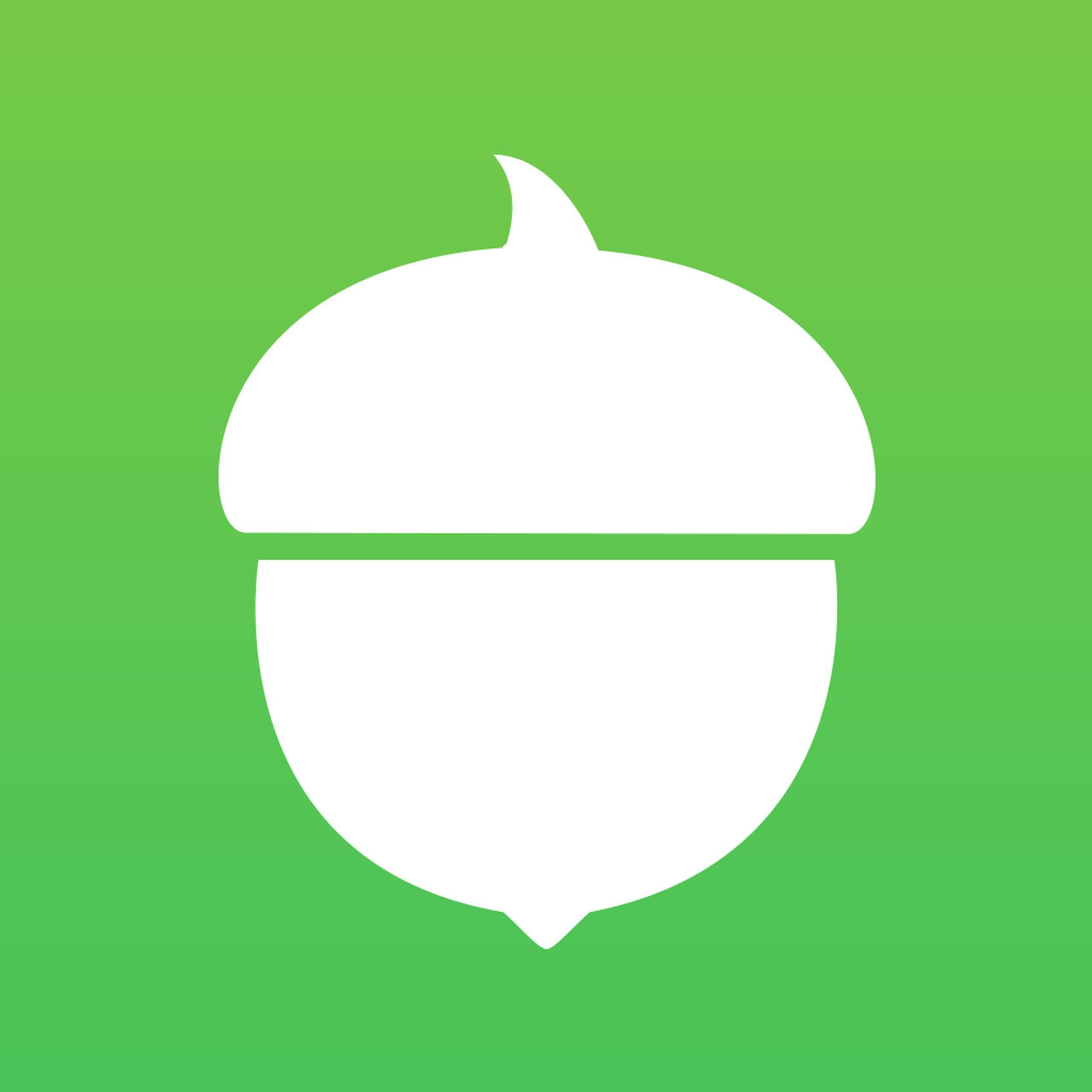 Acorns logo. (PRNewsFoto/Acorns Grow Inc.)